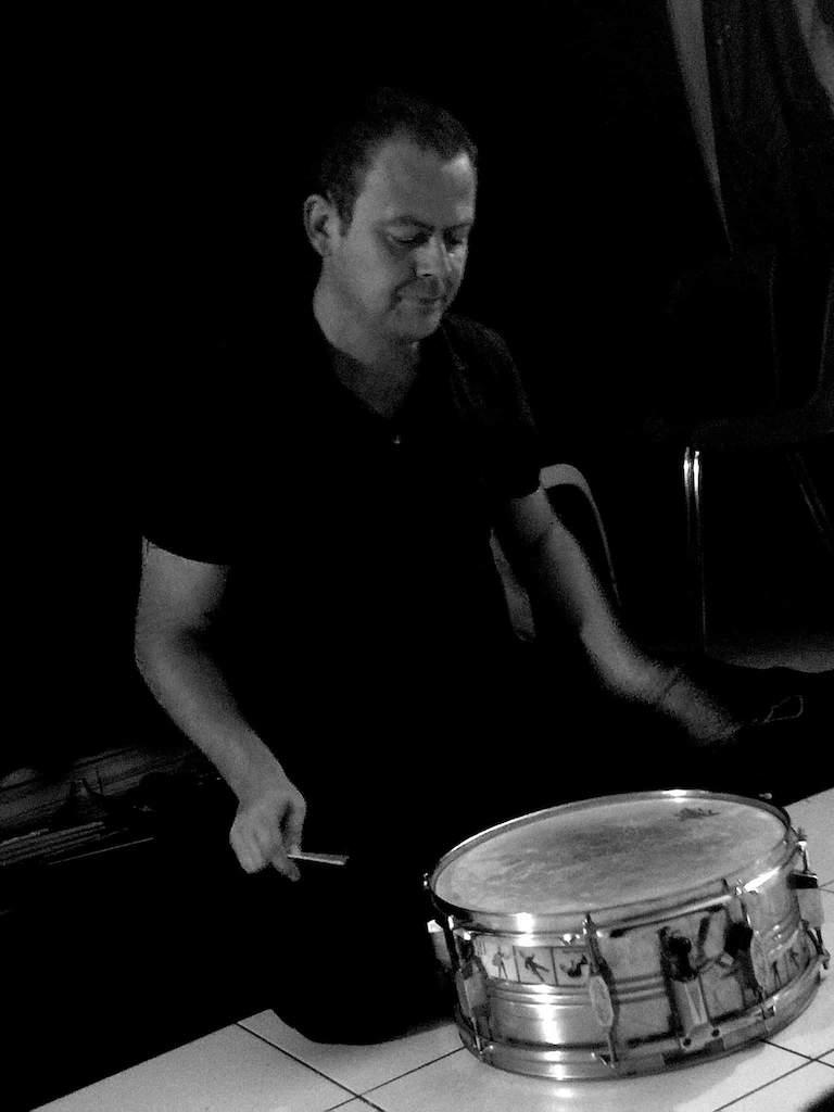 Concert Mathieu Bec en solo - Percussions