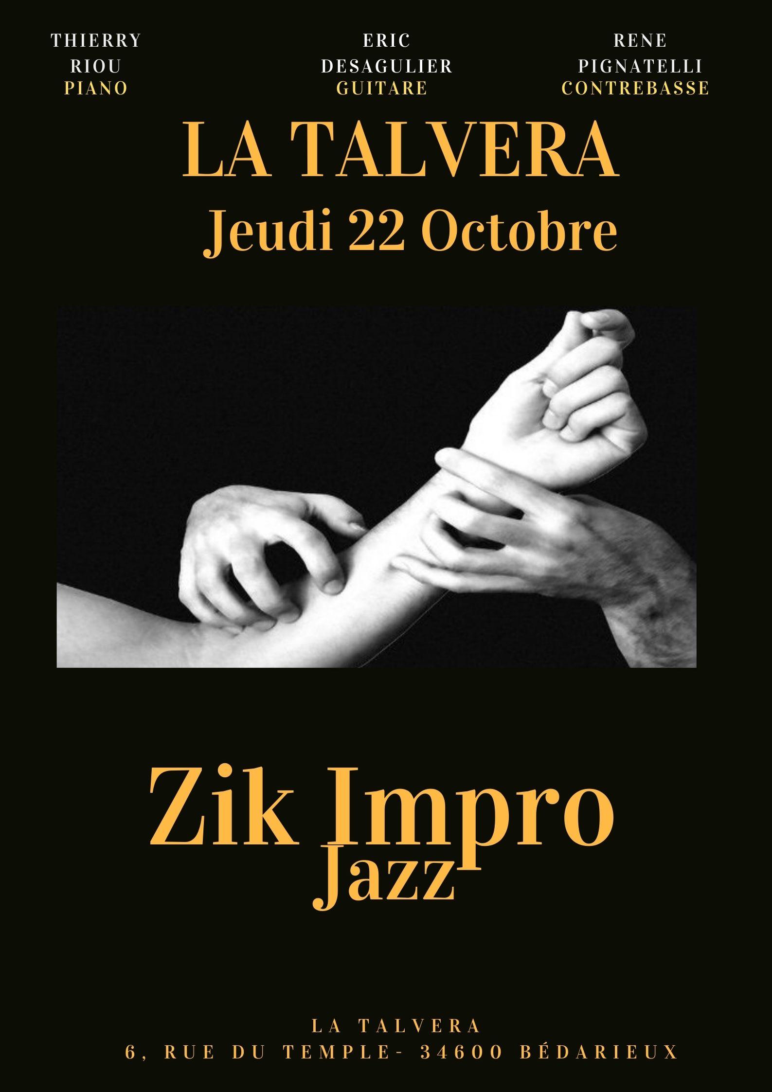 Concert repas Jazz Zik Impro