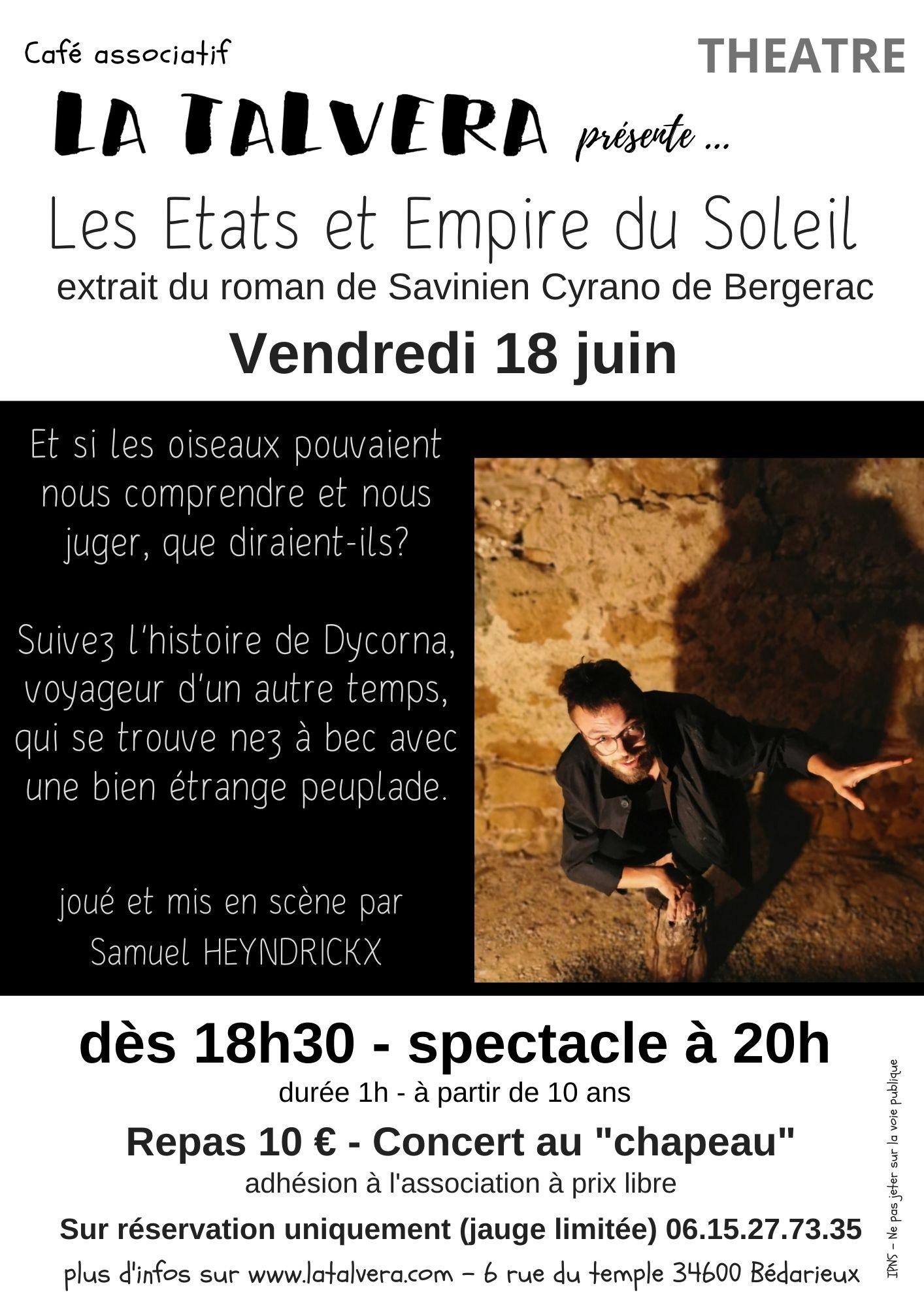 Solo de Théâtre - Les Etats et Empire du Soleil
